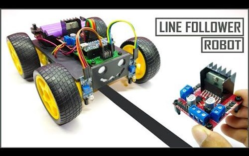 The Working Structure of Line Follower Robot